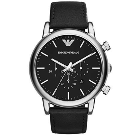 Emporio Armani AR1828 Men's Classic Analog Analog-quartz Black Watch