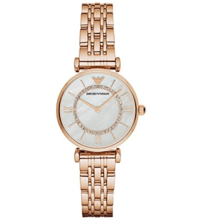 Emporio Armani Women's AR1909 Retro Rose Gold Watch