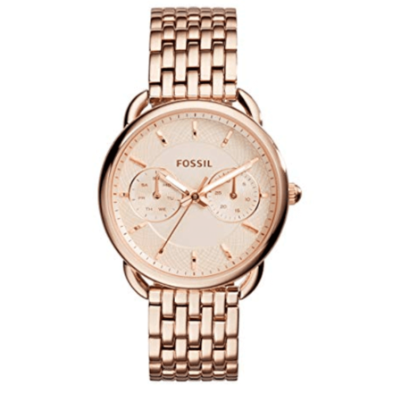 Fossil Women's ES3713 Tailor Analog Quartz Rose Gold Watch