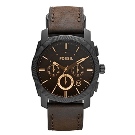 Fossil Men's Machine Analog Analog-quartz Brown Watch