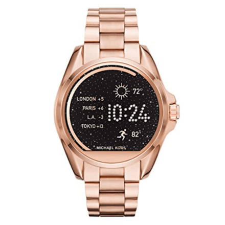 Michael Kors Access Touchscreen Rose Gold Bradshaw Smartwatch