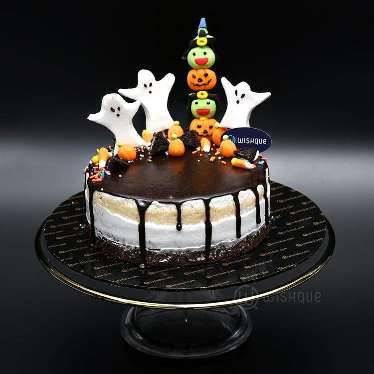 A Ghost Town Cake