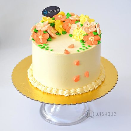 Summer Bliss Buttercream Cake