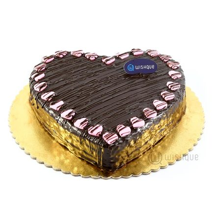 Sweetheart Chocolate Cake