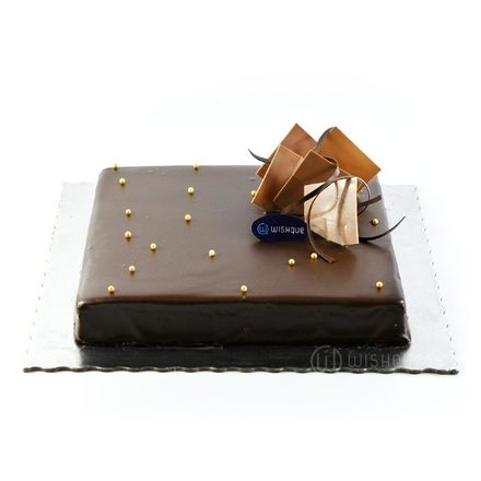 Delectable Lindt Ganache Chocolate Cake