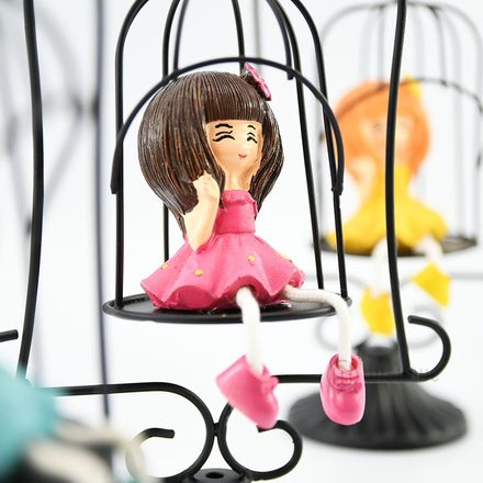 Swing Girl Ornament