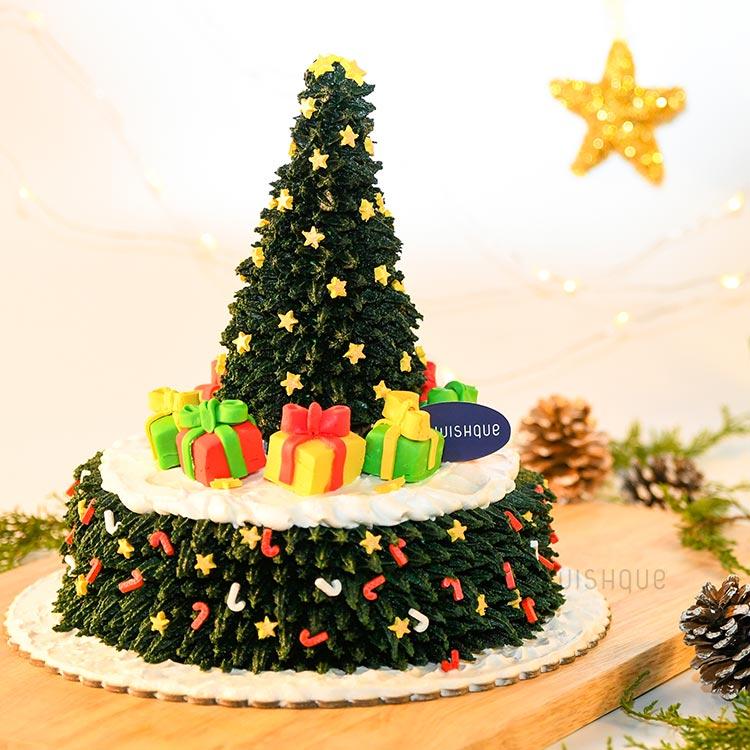 The North Pole Christmas Tree Signature Cake Wishque Sri Lanka S