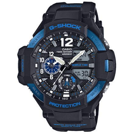 Casio G-Shock Blue Gravity Defier Ga1100-2B