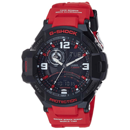 Casio G-Shock Red Gravity Defier Ga1000-4B