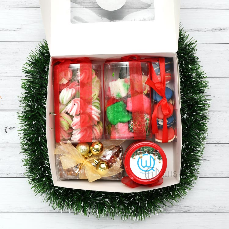 Christmas Cookies And Goodies Hamper