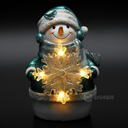Snowman LED Night Light Ornament