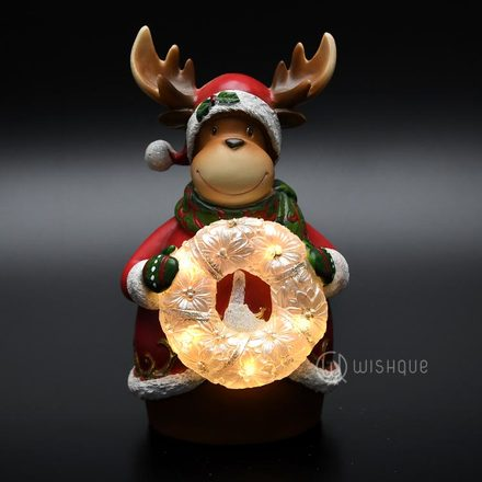 Reindeer LED Night Light Ornament