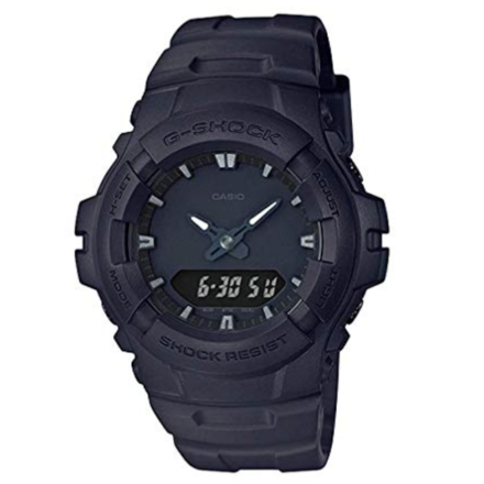 Casio G-Shock Analog Digital Dual Time Men Watch (All Black)