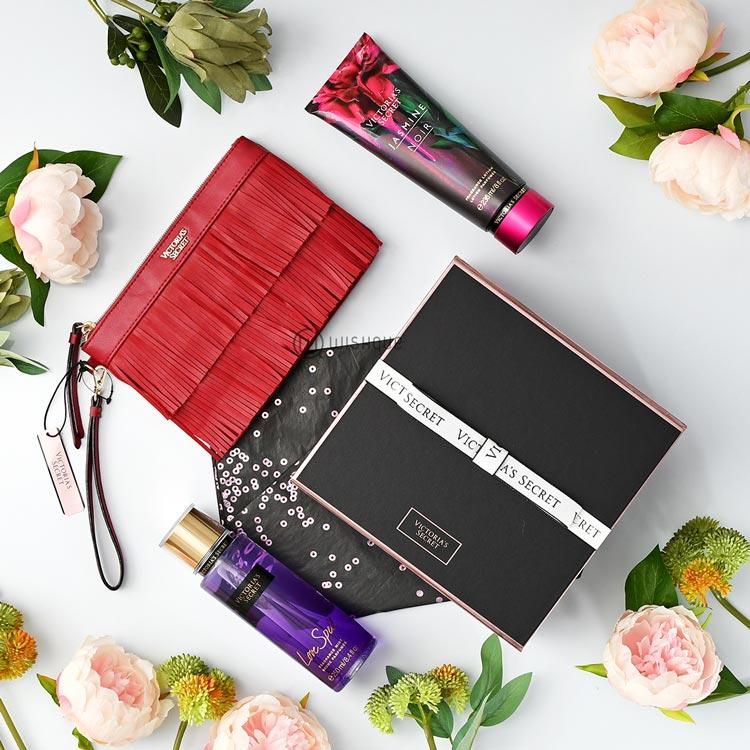1fada6c403162 Victoria's Secret Jasmine Noir and Love Spell Fragrance Luxury Gift Set