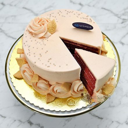 Elegance Lover Cream Cheese Red Velvet Cake