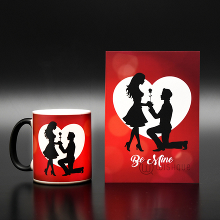 Pledge Myself To You Greeting Card & Magic Mug