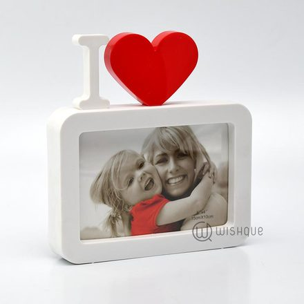 I Love Us Photo Frame