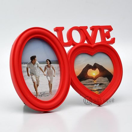 One Love In Red Photo Frame