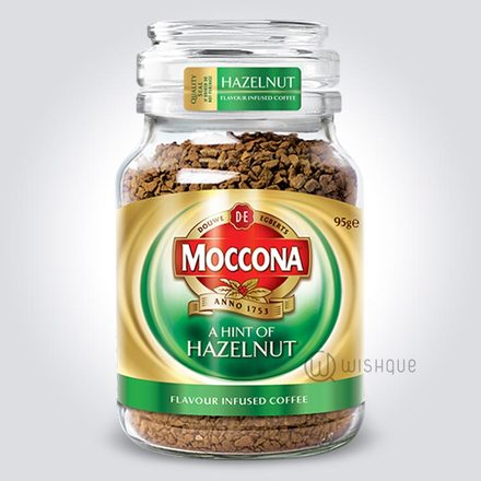 Moccona A Hint Of Hazelnut Flavour Infused Coffee 95g