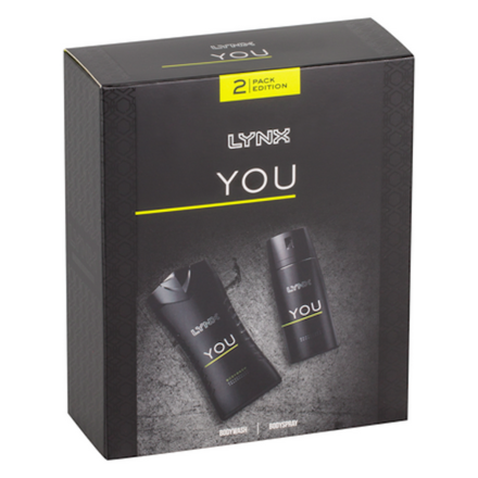 Lynx You 2 Piece Gift Set