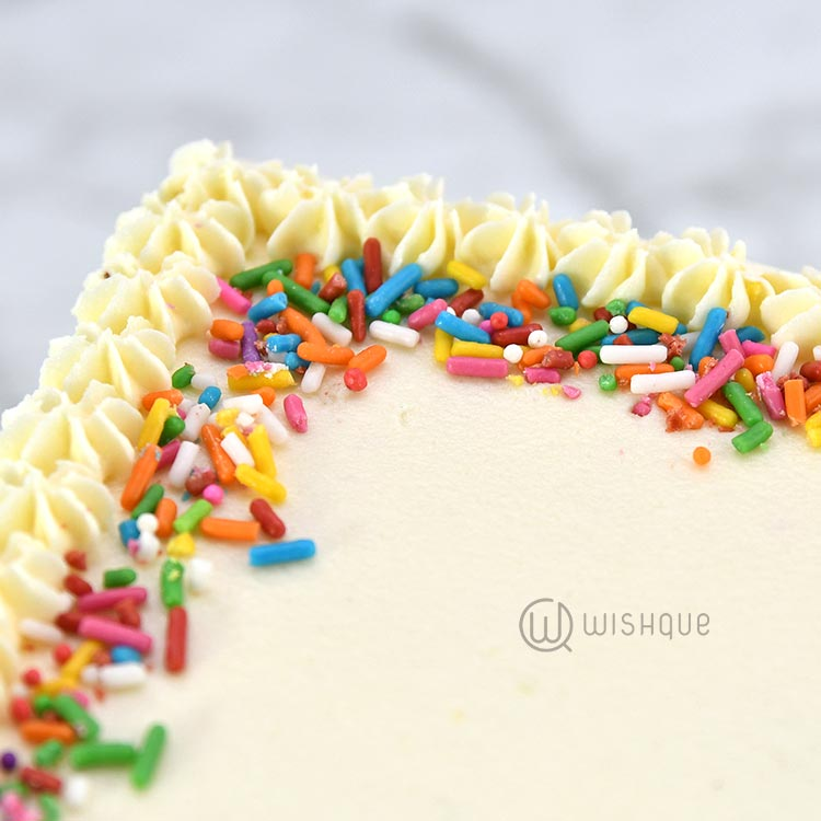 Classic Marble Buttercream Cake