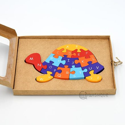 Wooden Tortoise Jigsaw Puzzle