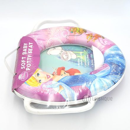Soft baby potty seat Cinderella