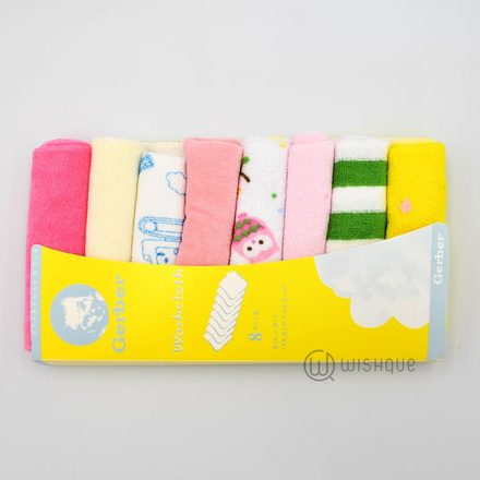 Wash Cloth 8 Pcs
