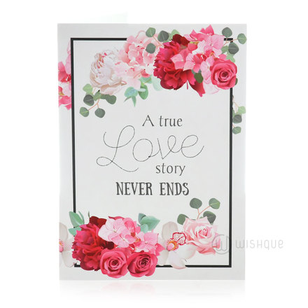 True Love Story Greeting Card