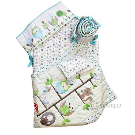 Baby cot bedding pack
