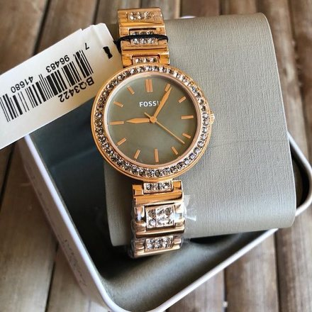 Fossil BQ3422 Rose Gold Women's Watch