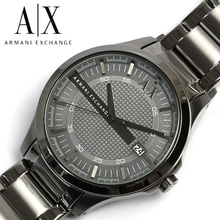 Armani Exchange AX2135 Hampton Grey Texture Men's Watch