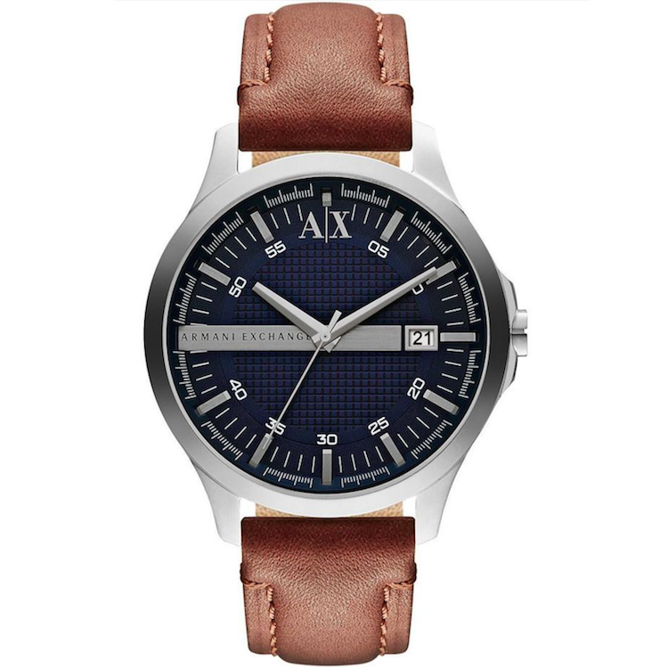Armani Exchange AX2133 Hampton Brown Leather Men's Watch