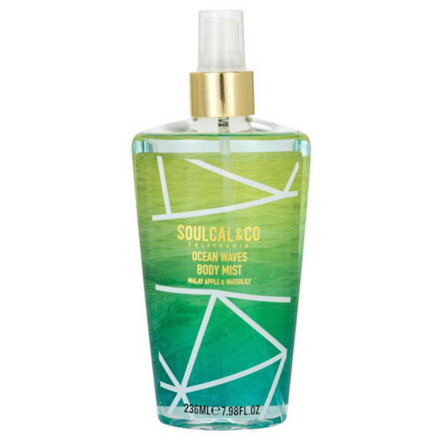 Soulcal & Co California Ocen Waves Body Mist Malay Apple & Waterlily  236ml