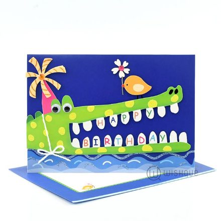 Happy Glub Glub Birthday Card
