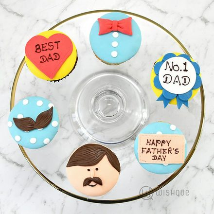 Best Dad Cupcakes 6 Pack