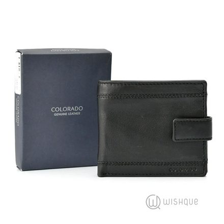 Colorado Genuine Leather RFID Slip Pocket Wallet