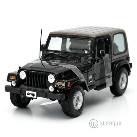 Jeep Wrangler Sahara Official Licensed Product