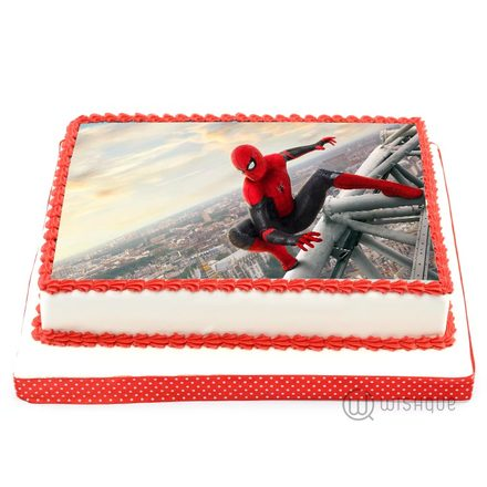 Custom Edible Print Cake - Spider Man 4.4lbs