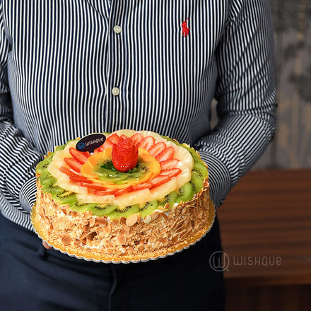 Tropical Fruit Gateaux