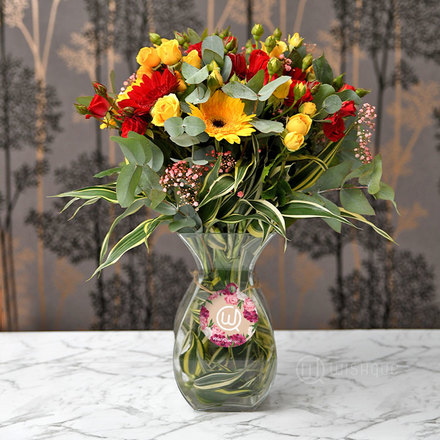 Tropical Blooms Arrangement