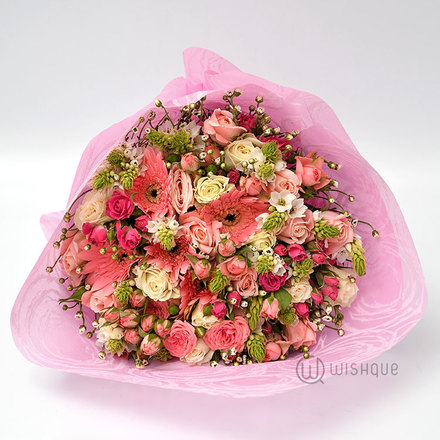 Pink Surprise Large Bouquet
