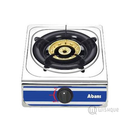 Abans One Burner Gas Cooker