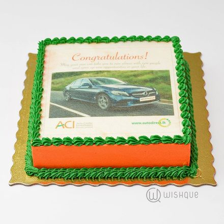 Autodirect Custom Print Cake - 01 KG
