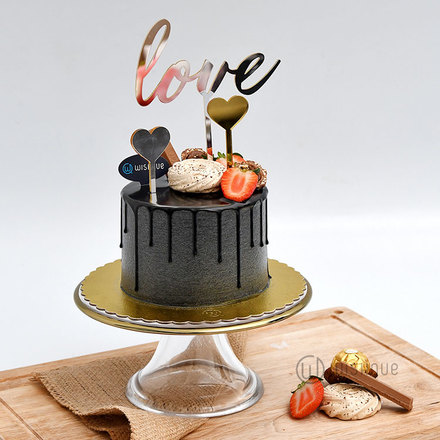 Love Cake Topper - 3 Pcs Set