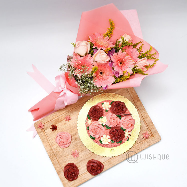 Berry Blossoms for Her Gift Set