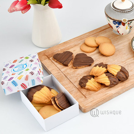 Teatime Chocolate Coated All Butter Cookie Selection