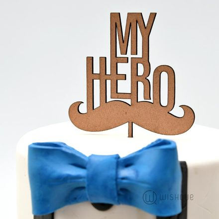 My Hero Cake Topper