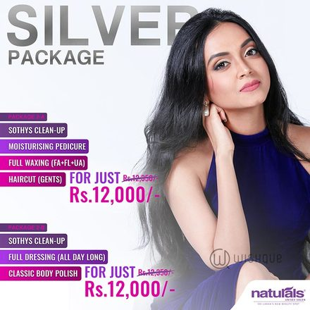 Naturals Unisex Salon & Spa - Silver Package