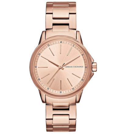 Armani Exchange AX4347 Women's Rose Gold Watch